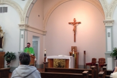 Father Eduardo Scarel visit to the Motherhouse