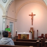 Mass in the Motherhouse chapel