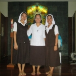 Junior postulants with Sister Beth