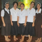 Postulants with Sister Elsie and Elma