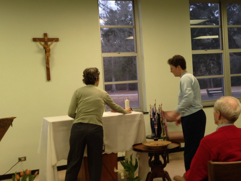 Eucharistic Celebration presided by Brother Louis Couvillon, S. C.