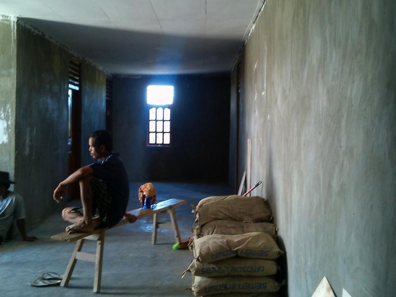 Walls are now up on the new convent in Timor-Leste