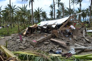 The devastating effects of Typhoon Haiyan