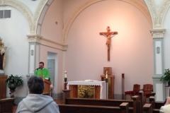 Father Eduardo Scarel visit to the Motherhouse