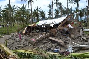 The devastating effects of Typhoon Haiyan